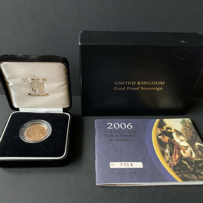 2006 Proof Full Gold Sovereign